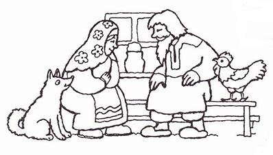 Бабушке марта, рисунок к сказке девочка снегурочка